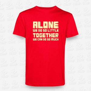 T-shirt Alone Vs Together – STAMP – Loja Online