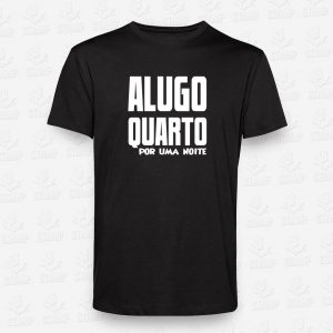 T-shirt Alugo Quarto – STAMP – Loja Online