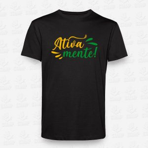 T-shirt Ativamente – STAMP – Loja Online