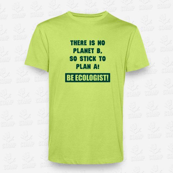 T-shirt Be Ecologist – STAMP – Loja Online