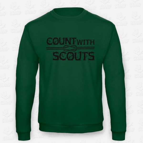 Sweatshirt Count with a Scout – STAMP – Loja Online de T-shirts
