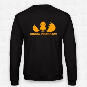 Sweatshirt Criança Estou Chocado – STAMP – Loja Online de T-shirts