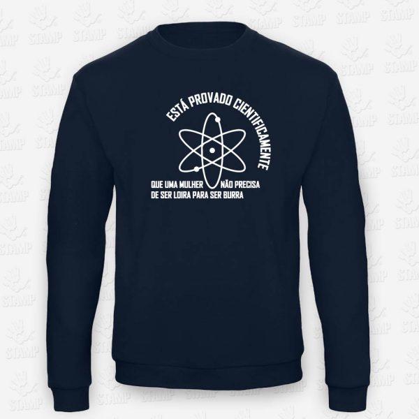Sweatshirt Cientificamente Provado – STAMP – Loja Online de T-shirts