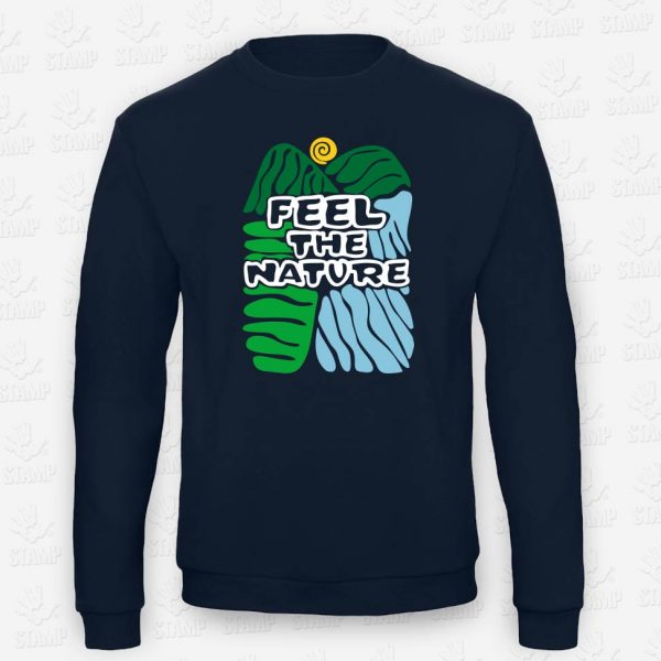 Sweatshirt Feel the Nature – STAMP – Loja Online de T-shirts