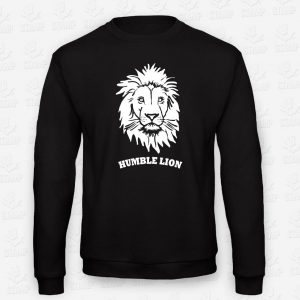 Sweatshirt Humble Lion – STAMP – Loja Online de T-shirts