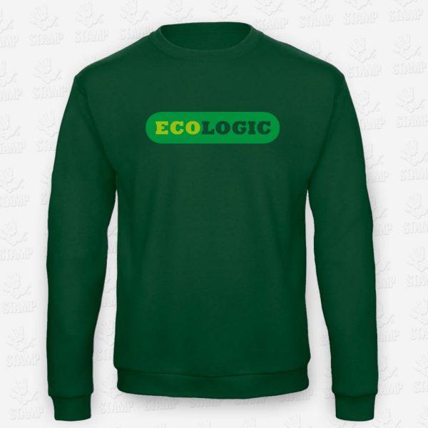 Sweatshirt Eco Logic – STAMP – Loja Online de T-shirts