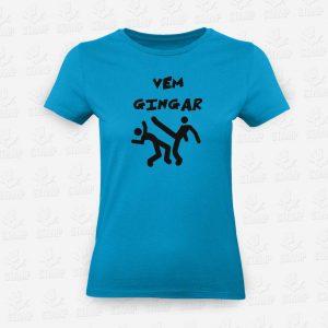 T-shirt Feminina Vem Gingar – STAMP – Loja Online