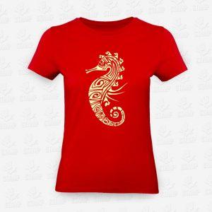 T-shirt Feminina Cavalo Marinho – STAMP – Loja Online