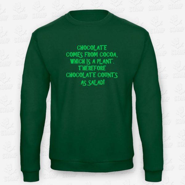 Sweatshirt Chocolate – STAMP – Loja Online de T-shirts