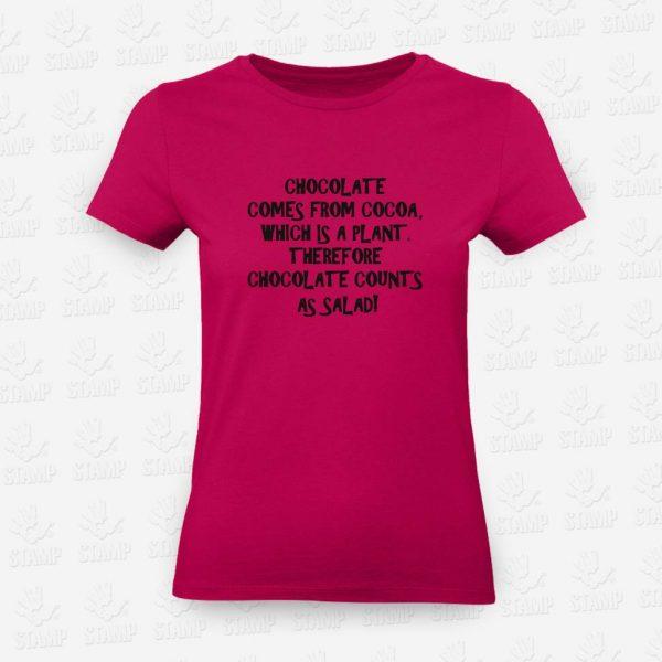 T-shirt Feminina Chocolate – STAMP – Loja Online