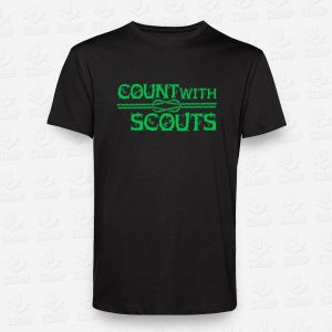 T-shirt Count with a Scout – STAMP – Loja Online