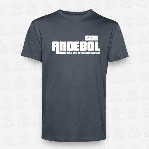 T-shirt Sem AndeboI não era a mesma coisa – STAMP – Loja Online