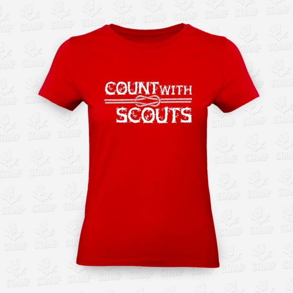 T-shirt Feminina Count with a Scout – STAMP – Loja Online
