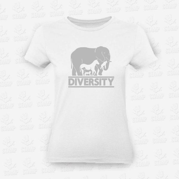 T-shirt Feminina Diversity – STAMP – Loja Online
