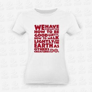 T-shirt Feminina Lightly Earth – STAMP – Loja Online