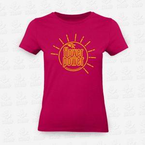 T-shirt Feminina Flower Power – STAMP – Loja Online