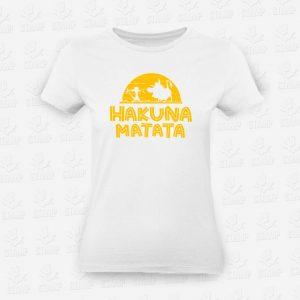 T-shirt Feminina Hakuna Matata – STAMP – Loja Online