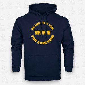 Hoodie Criança Be like the Sun - STAMP - Loja Online de T-shirts