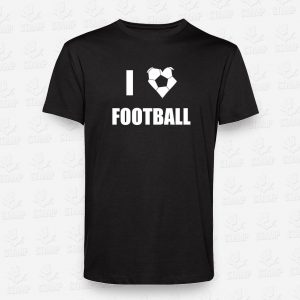 T-shirt I love Football – STAMP – Loja Online