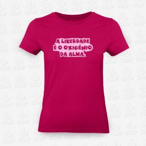 T-shirt Feminina Liberdade – STAMP – Loja Online