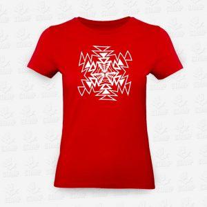 T-shirt Feminina Mandala Triangular – STAMP – Loja Online