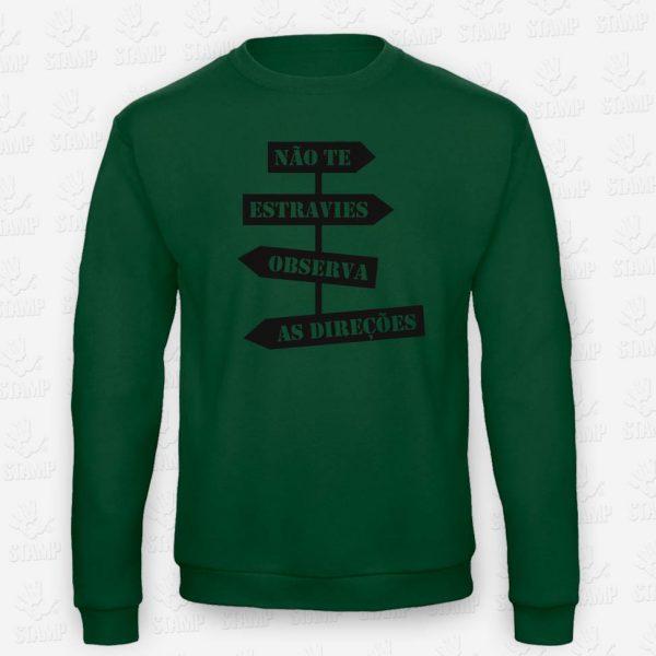 Sweatshirt Direções – STAMP – Loja Online de T-shirts