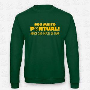 Sweatshirt Pontual – STAMP – Loja Online de T-shirts