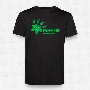 T-shirt Preserve the Living World – STAMP – Loja Online