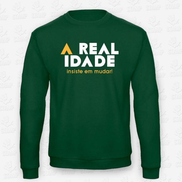 Sweatshirt A Realidade – STAMP – Loja Online de T-shirts