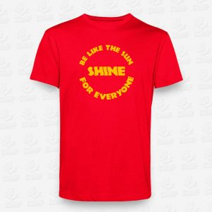 T-Shirt Be like the sun - STAMP - Loja Online