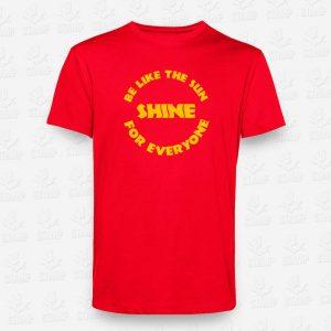 T-shirt Criança Be like the Sun - STAMP - Loja Online