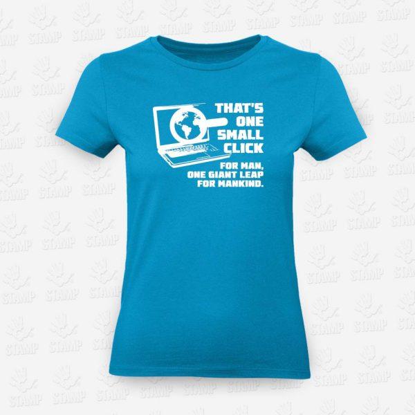 T-shirt Feminina Small Click – STAMP – Loja Online