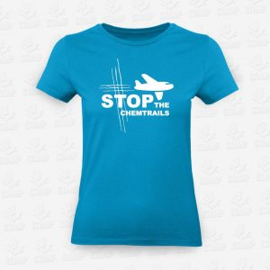 T-shirt Feminina Stop Chemtrails – STAMP – Loja Online