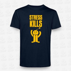 T-shirt Stress Kills – STAMP – Loja Online