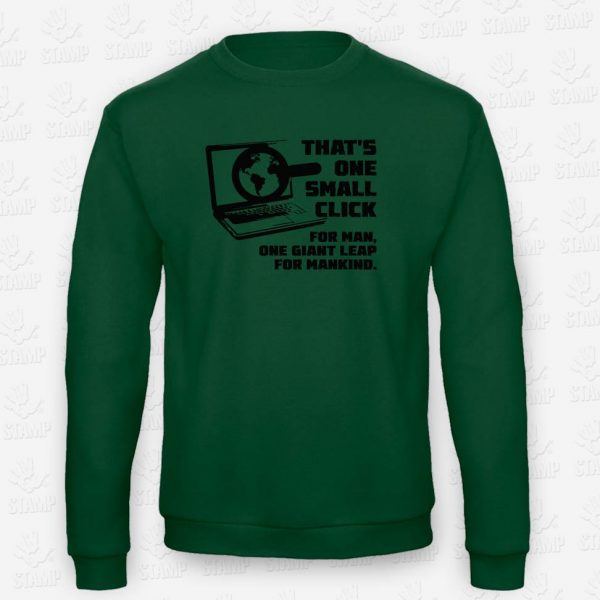 Sweatshirt Small Click – STAMP – Loja Online de T-shirts