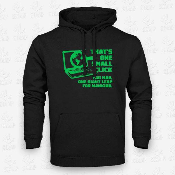 Hoodie Small Click – STAMP – Loja Online de T-shirts