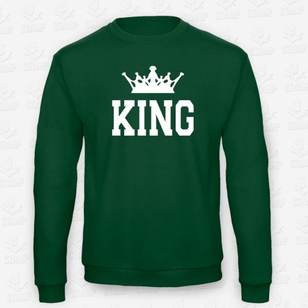 Sweatshirt King – STAMP – Loja Online de T-shirts