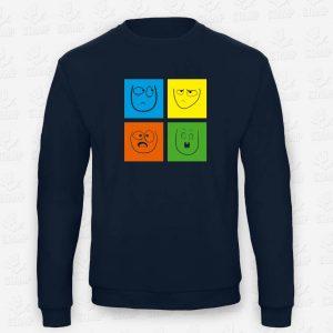 Sweatshirt Criança Multifaces – STAMP – Loja Online de T-shirts