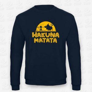 Sweatshirt Criança Hakuna Matata – STAMP – Loja Online de T-shirts
