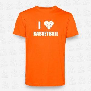 T-shirt I love Basketball – STAMP – Loja Online