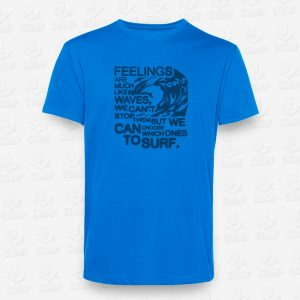 T-shirt Feelings like Waves – STAMP – Loja Online