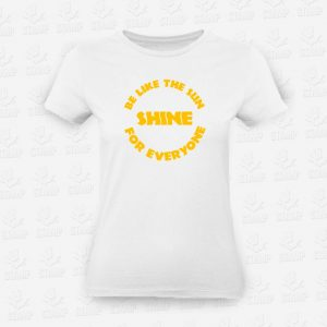 T-Shirt Feminina Be like the sun – STAMP – Loja Online
