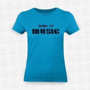 T-shirt Feminina Born to Music – STAMP – Loja Online