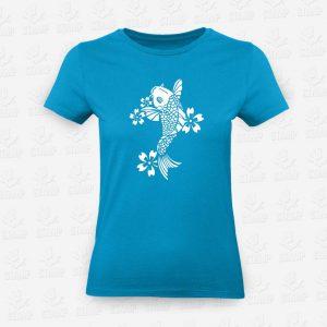 T-shirt Feminina Carpa – STAMP – Loja Online