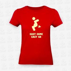 T-shirt Feminina Easy Come Easy Go – STAMP – Loja Online