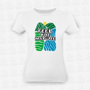 T-shirt Feminina Feel the Nature – STAMP – Loja Online