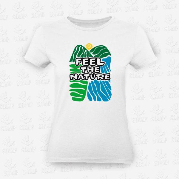 T-shirt Feminina Feel the Nature – STAMP – Loja Online