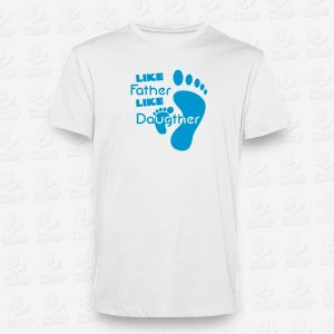 T-shirt Like father like daughter – STAMP – Loja Online