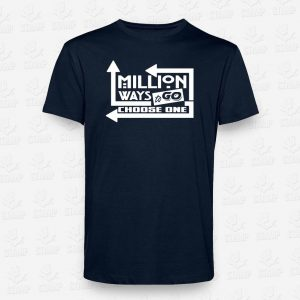 T-Shirt Million ways to go – STAMP – Loja Online