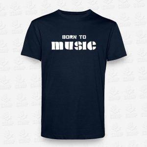 T-shirt Born to Music – STAMP – Loja Online